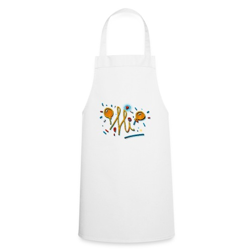 Hi Sunny Doodle fun design by FabSpark - Cooking Apron