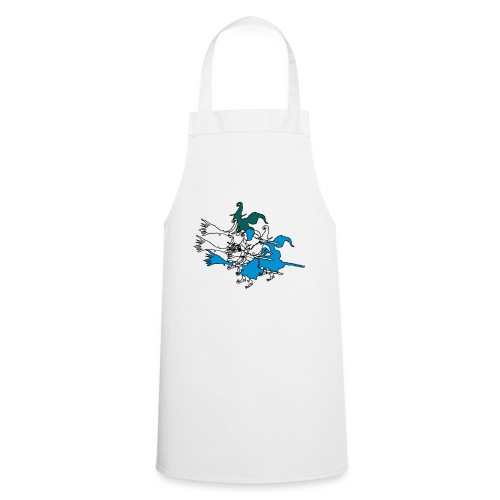 Witches on broomsticks Men's T-Shirt - Cooking Apron