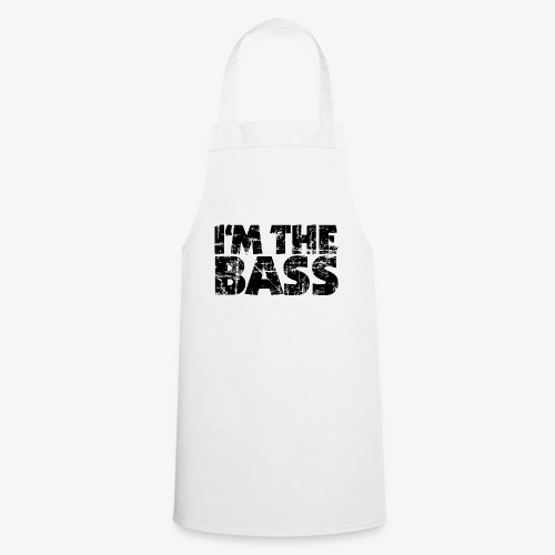 I'm the Bass Vintage Black - Kochschürze