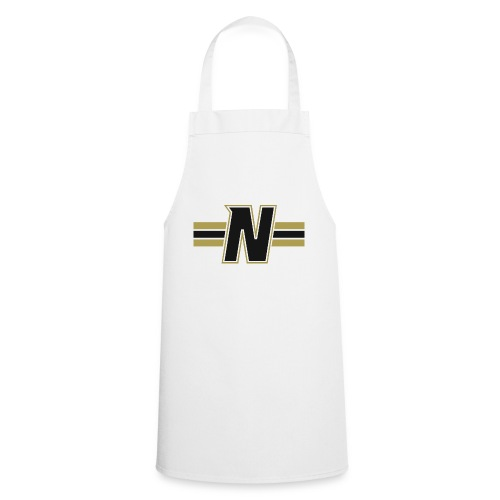Nordic Steel Black N with stripes - Cooking Apron
