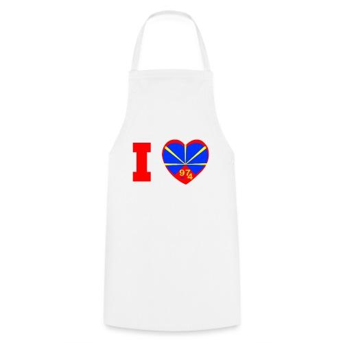 I love 974 - Lo Mahaveli - Tablier de cuisine