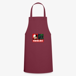 Official Lesterleal Blue Shirt - Cooking Apron