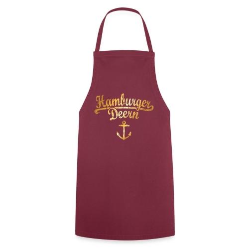 Hamburger Deern Klassik (Vintage Goldgelb) - Kochschürze