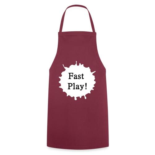 Fast play weiß - Kochschürze