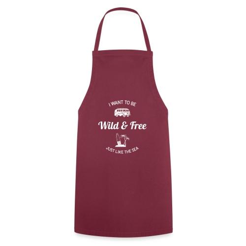 Sauvage et libre... (homme) - Tablier de cuisine