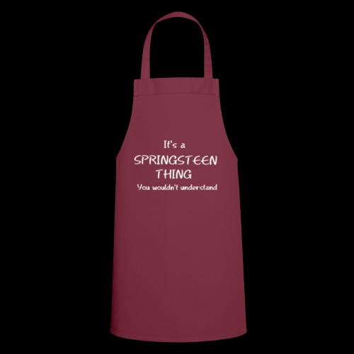 It's a Springsteen Thing.... - Cooking Apron