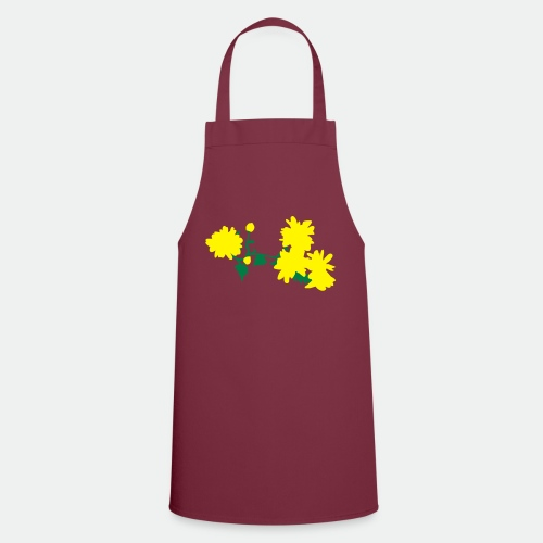 Asian flowers - Cooking Apron