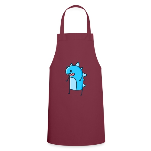 Blue Dancing Dino - Cooking Apron