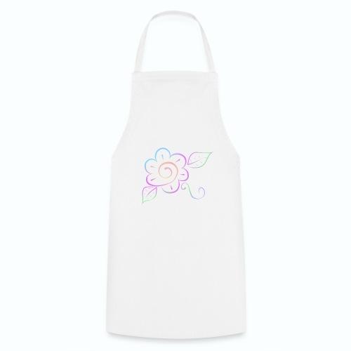 Tonalidades de en flor - Delantal de cocina