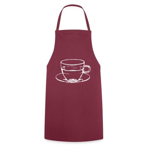 transparent cup - tazzina trasparente - Grembiule da cucina