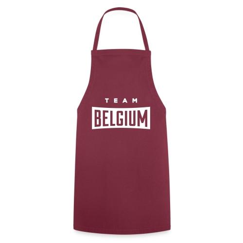 Team Belgium - Belgique - Belgie - Tablier de cuisine