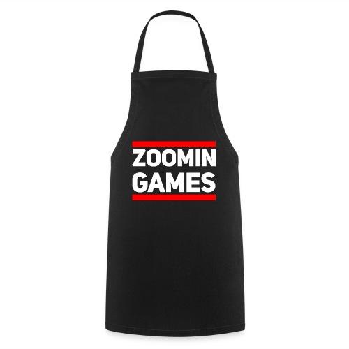 9815 2CRun ZG White - Cooking Apron