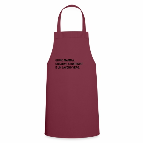 Giuro Mamma - creative strategist - Grembiule da cucina