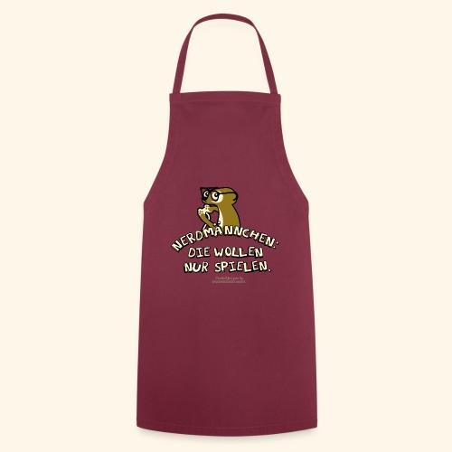 T-Shirt Nerdmännchen Erdmännchen für Geeks & Nerds - Kochschürze