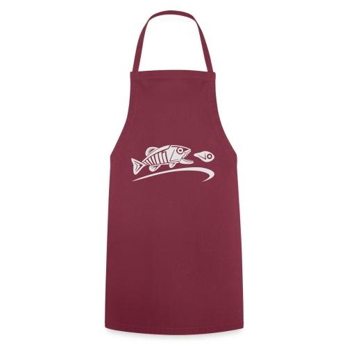 logo-tribal-blanc-notext - Tablier de cuisine