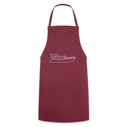 Hausboot Weiss - Kochschürze