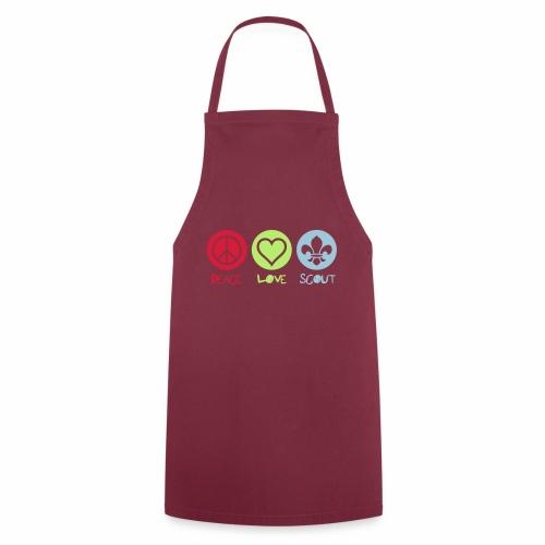 Peace Love Scout - Tablier de cuisine