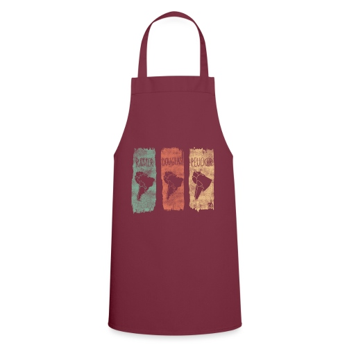Ramer-Douglas-Peucker Stripes - South America - Cooking Apron