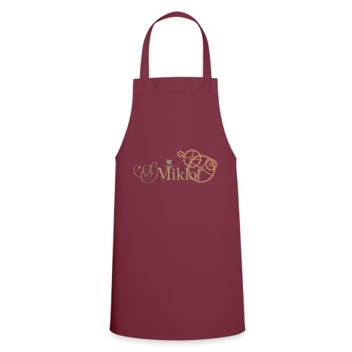 miklof logo gold outlined 3000px - Cooking Apron