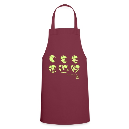 We're Still Moving - Continental Drift - Cooking Apron