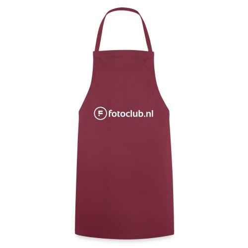 Logo Wit Fotoclublnl - Keukenschort