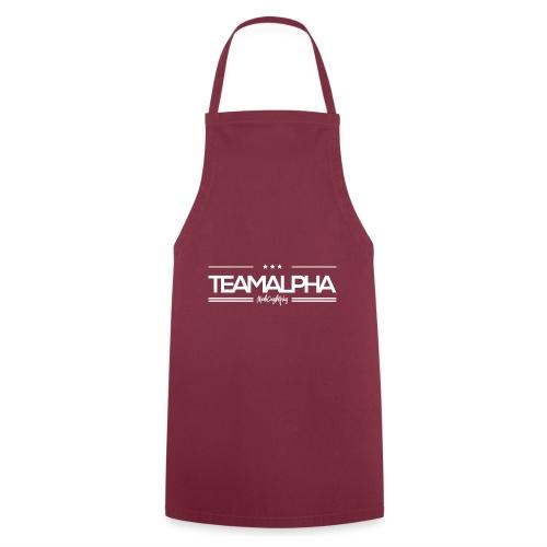 Team Alpha Alphatier Geschenk für Alphas - Kochschürze