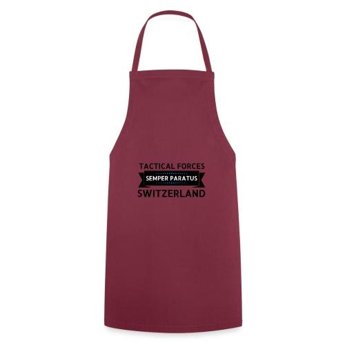 Semper Paratus 2 noir - Tablier de cuisine