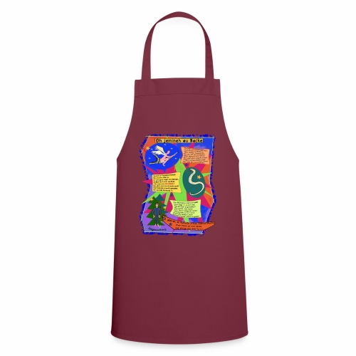 Oh Jemineh au Backe - Cooking Apron