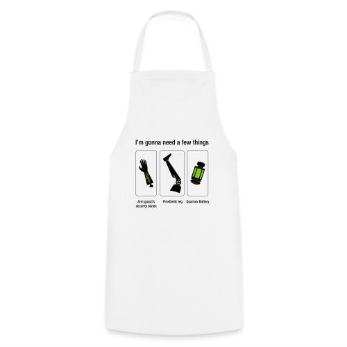 Rocket citation Few things gardiens - Tablier de cuisine