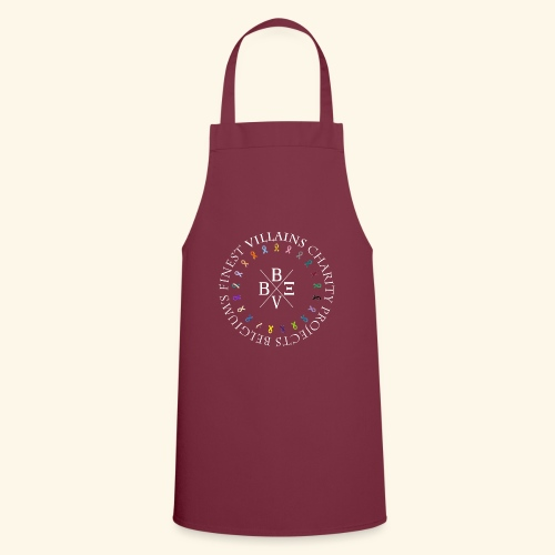 BVBE Charity Projects x factor white Charlemagne T - Cooking Apron