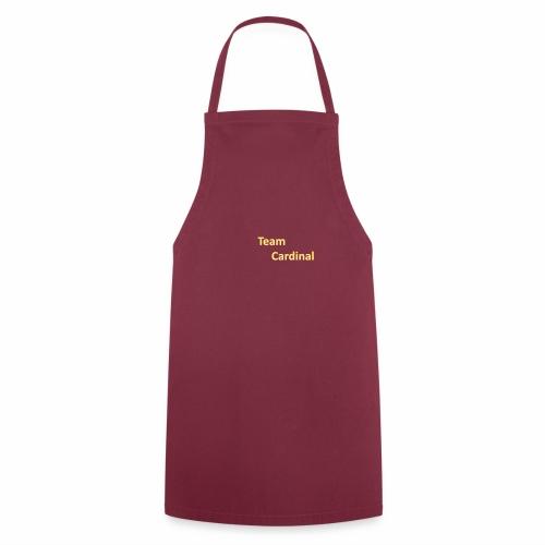 team cardinal 1 - Cooking Apron