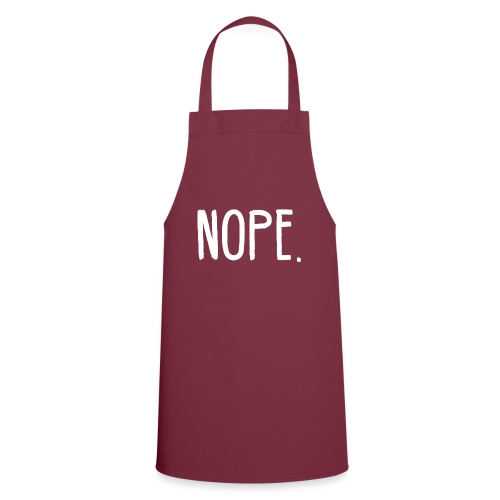 NOPE - Cooking Apron