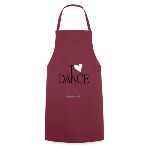 I LOVE DANCE - Forklæde