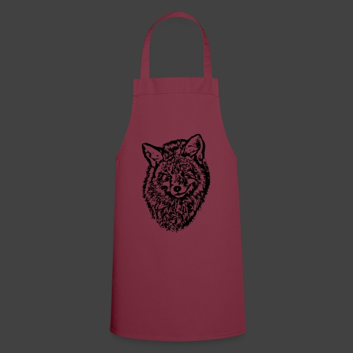 FOX1 - BLACK - Cooking Apron