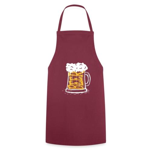 Bier Krug - Kochschürze