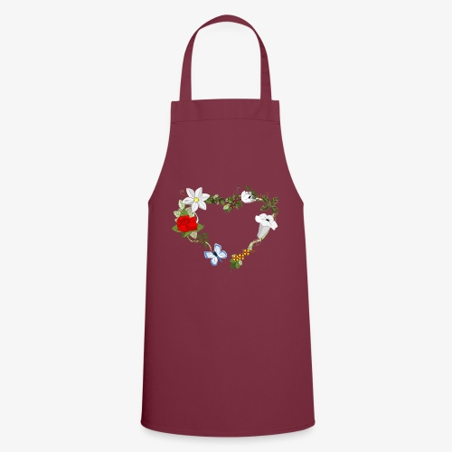 Wedding pattern - Tablier de cuisine