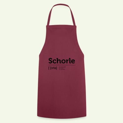 Schorle Lautschrift - Kochschürze