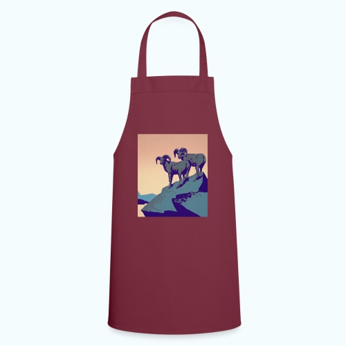 Vintage Capricorn Travel Poster - Cooking Apron
