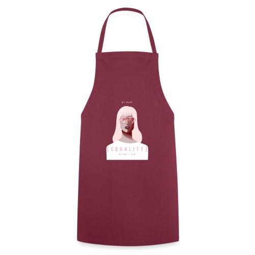 feminist t shirt design creator featuring - Delantal de cocina