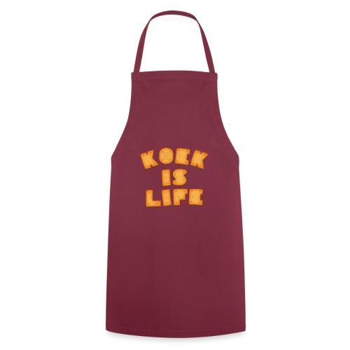 koek is life - Keukenschort