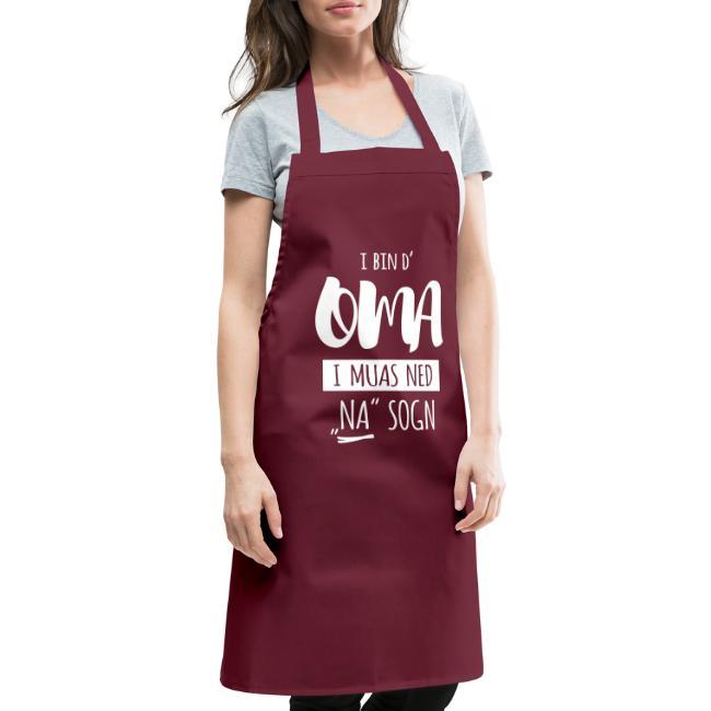 Vorschau: I bin die Oma i muas ned NA sogn - Kochschürze
