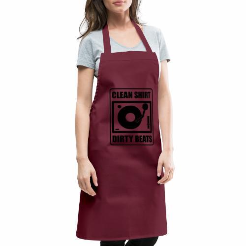 Clean Shirt Dirty Beats - Keukenschort