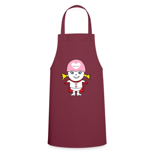 Superheld Mädchen - Kochschürze
