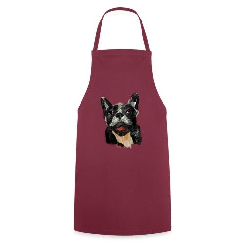 French Bulldog Portrait - lebendig und urban - Kochschürze
