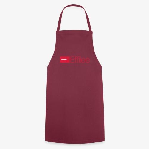 Effilee Logo mit weiss - Kochschürze