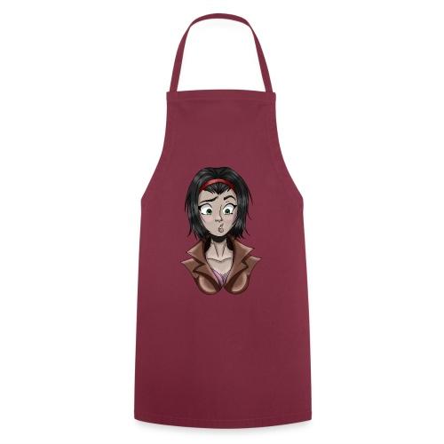 Cartoon Girl Design - Tablier de cuisine