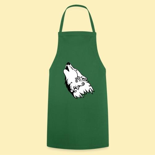 Le Loup de Neved (version blanche) - Tablier de cuisine