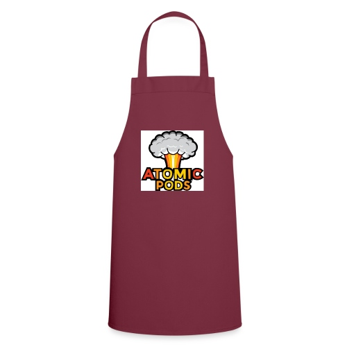 Atomic Podcast Logo - Cooking Apron
