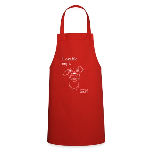 Lovable eejit - Cooking Apron