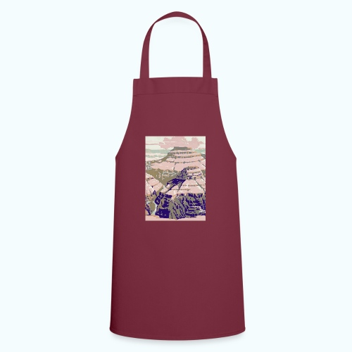 Rocky Mountains Vintage Travel Poster - Cooking Apron